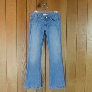 2/$18🎈EUC Distressed Denim Light Boot Cut Jeans 7